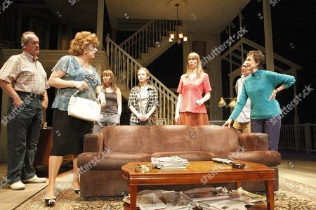 Paul Vincent O'Connor (Charlie Aiken), Rondi Reed (Mattie Fay Aiken), Sally Murphy (Ivy Weston), Molly Ranson (Jean Fordham), Amy Morton (Barbara Fordham), Jeff Perry (Bill Fordham), Deanna Dunagan (Violet Weston)