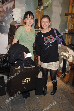 Stock Image of Pearl Lowe and Mairead Nash