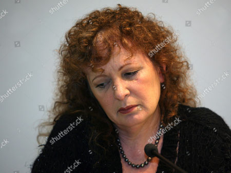 Us Photographer Nan Goldin Looks on During a Press Conference at the Berlinische Galerie in Berlin Germany 19 November 2010 Goldin Displays Photographs of Her Time Spent in Berlin and Portraits of Friends Under the Title 'Nan Goldin - Berlin Work - Photographs From 1984 to 2009' in the Course of the European Month of Photography in Berlin the Exhibition Will Be Open Until 28 March 2011 Germany Berlin