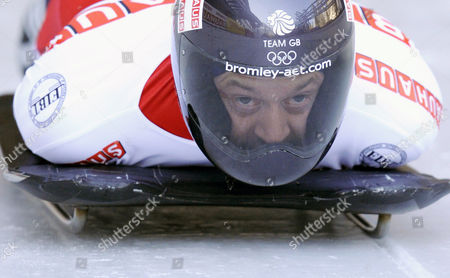 Great Britain's Kristian Bromley Competes in the Men's Skeleton World Championships 2011 in Koenigssee Germany 24 February 2011 Germany Koenigssee