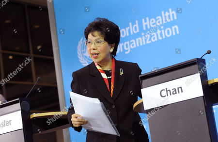 Stock Image of Margaret Chan Fung Fu-chun Director-general of the World Health Organization (who) Delivers the Whoáhealth Report in Berlin Germany 22 November 2010 Media Reports State That the Head of the World Health Organisation Margaret Chan Fung Fu-chun Welcomed Comments by Pope Benedict Xvi on 22 November 2010 in Which He Appeared to Signal a New Stance by the Catholic Church on the Use of Condoms to Prevent Hiv Germany Berlin