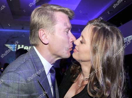 A Picture Made Available on 14 November 2010 Shows Finnish Former Formula 1 Driver Mika Hakkinen (l) and His Partner Czech Marketa Kromatova at Faro Vilamoura in Portugal 12 November 2010 During a Party in the Context of 'Hermes Eagles President Golf Cup 2010' Numerous Celebrities and Golf Club Members Had Gathered in the Algarve by Two Days Portugal Vilamoura