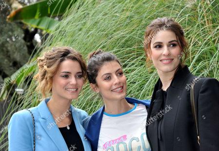 Giusy Buscemi, Diana Del Bufalo, Alessandra Mastronardi
