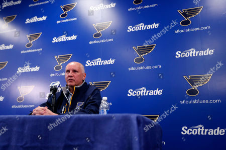 Doug Armstrong, Mike Yeo St. Louis Blues general manager Doug Armstrong speaks during a news conference naming Mike Yeo as the Blues' new head coach, in St. Louis. Yeo replaces Ken Hitchcock who was fired by the team