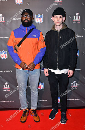 Stock Image of Mikill Pane and guest