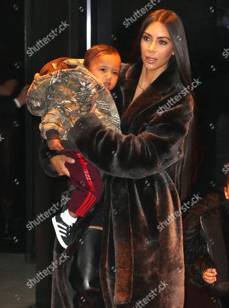 Kim Kardashian West, Saint West