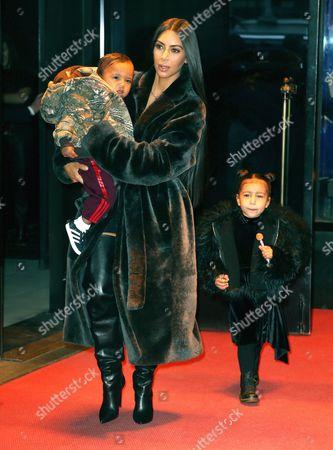 Kim Kardashian West, North West, Saint West