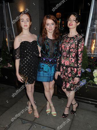Louisa Connolly-Burnham, Rosie Day, Sarah Winter