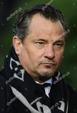 Stock Image of Former player Dean Holdsworth attends the funeral of former England football team manager Graham Taylor
