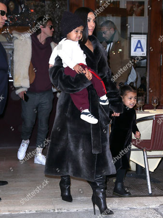 Kim Kardashian West, North West, Saint West, Jonathan Cheban