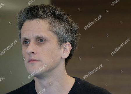 Box CEO and co-founder Aaron Levie is interviewed at his office in Redwood City, Calif