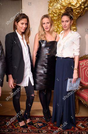 Quentin Jones, Sophie Oakley and Jemima Jones