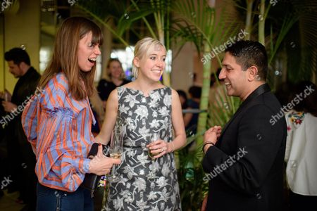 Stock Picture of Eloise Fornieles, Polly Stenham and Osman Yousefzada
