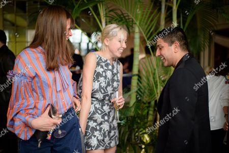 Eloise Fornieles, Polly Stenham and Osman Yousefzada