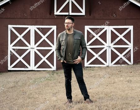 Danny Gokey poses at his home in Brentwood, Tenn