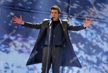 Aram Mp3 Representing Armenia Performs During Grand Final of the 59th Annual Eurovision Song Contest (esc) at the B&w Hallerne in Copenhagen Denmark 10 May 2014 Sixteen Countries Are Competing in the Grand Finale Denmark Copenhagen