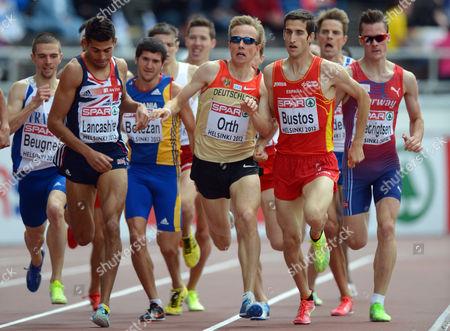 Editorial image of Finland Athletics European Championships - Jun 2012