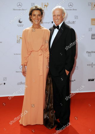 Designers Sonia and Husband Willy Bogner Arrive For the Bambi Award in Wiesbaden Germany 10 November 2011 the Bambis Are the Main German Media Awards and Are Presented For the 63rd Time Germany Wiesbaden