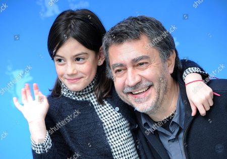 Spanish Director Antonio Chavarrias (r) and Actress Magica Perez Pose During the Photocall For the Movie 'Childish Games' ('dictado') During the 62nd Berlin International Film Festival in Berlin Germany 11 February 2012 the Movie is Presented in the Section Berlinale Special at the 62nd Berlinale Running From 09 to 19 February Germany Berlin