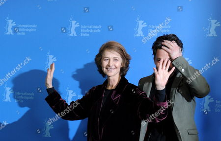 British Actress Charlotte Rampling (l) and Director Barnaby Southcombe Attend the Photocall For the Movie 'I Anna' During the 62nd Berlin International Film Festival in Berlin Germany 12 February 2012 the Movie is Presented in the Section Berlinale Special at the 62nd Berlinale Running From 09 to 19 February Germany Berlin