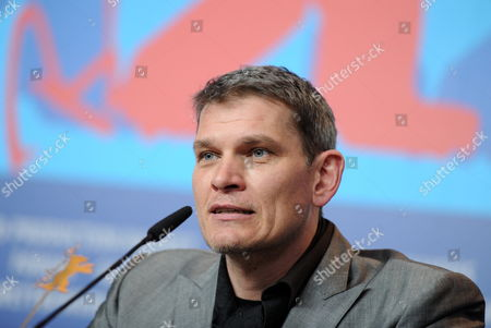 German Actor Goetz Otto Attends the Press Conference For the Movie 'Iron Sky' During the 62nd Berlin International Film Festival in Berlin Germany 11 February 2012 the Movie is Presented in the Section Panorama Special at the 62nd Berlinale Running From 09 to 19 February Germany Berlin