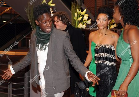 Actors Saul Williams (l-r) and Anisia Uzeyman and Aissa Maiga Arrive For the Premiere of 'Tey (aujourd'hui)' During the 62nd Berlin International Film Festival in Berlin Germany 10 February 2012 the Movie is Presented in Competition at the Berlinale That Runs From 09 to 19 February Germany Berlin