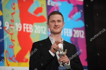 Danish Actor Mikkel Boe Folsgaard Poses with the Award For Best Actor (silver Bear) For the Movie 'A Royal Affair' ('en Kongelig Affære') During the Press Conference After the Closing Ceremony of the 62nd Berlin International Film Festival in Berlin Germany 18 February 2012 a Total of 18 Films Competing For the Berlinale's Prestigious Golden Bear For Best Picture About 400 Films Are Shown Every Year As Part of the Berlinale's Public Programme Germany Berlin