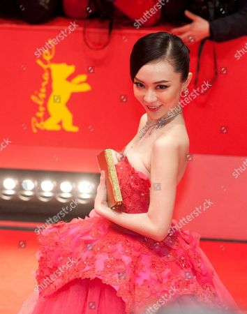Chinese Actress Huo Siyan Arrives For the Premiere of 'Farewell My Queen (les Adieux a La Reine)' During the 62nd Berlin International Film Festival in Berlin Germany 09 February 2012 the Movie Has Been Selected As the Festival's Opening Film and is Part of the Main Competition the the 62nd Berlinale Takes Place From 09 to 19 February Germany Berlin