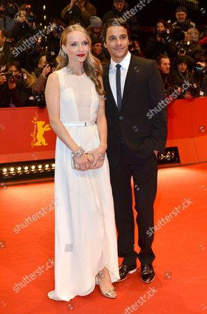 German Voices of the Film Actors Janin Reinhardt and Kostja Ullmann Arrive For the Premiere of 'The Croods' During the 63rd Annual Berlin International Film Festival in Berlin Germany 15 February 2013 the Movie is Presented in Competition out of Competition at the Berlinale Germany Berlin