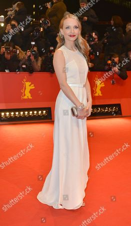 German Actress Janin Reinhardt Arrives For the Premiere of 'The Croods' During the 63rd Annual Berlin International Film Festival in Berlin Germany 15 February 2013 the 3d Animated Movie is Presented in Competition out of Competition at the Berlinale Running From 07 to 17 February Germany Berlin
