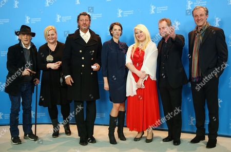 (l-r) Cinematographer Ed Lachman Screenwriter Veronika Franz Actor Michael Thomas Actress Viviane Bartsch Actress Melanie Lenz Director Ulrich Seidl and Actor Joseph Lorenz Pose at a Photocall For 'Paradise: Hope' (paradies: Hoffnung) During the 63rd Annual Berlin International Film Festival in Berlin Germany 08 February 2013 the Movie is Presented in Competition at the Berlinale Running From 07 to 17 February Germany Berlin