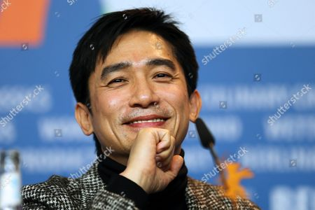 Chinese Actor Chinese Actor Tony Leung Chiu Wai Attends the Press Conference For 'The Grandmaster' (yi Dai Zong Shi) During the 63nd Berlin International Film Festival in Berlin Germany 07 February 2013 the Movie Has Been Selected As the Opening Film For the Berlinale and is Presented in the Offical Section out of Competion the Film Festival Runs From 07 to 17 February Germany Berlin