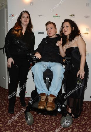 (l-r) Us Producer and Daughter of Actor Al Pacino Julie Pacino German Drama Student That was Paralyzed Following an Accident on the Television Show 'Wetten Dass ?' Samuel Koch and Us Screenwriter Director Actress Artist and Humanitarian Jennifer Delia Attend the Poverty Row Entertainment Party During the 63rd Annual Berlin International Film Festival in Berlin Germany 11 February 2013 at 'The Grand' the Berlinale Runs From 07 to 17 February Germany Berlin