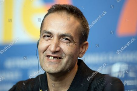Bosnian Actor Nazif Mujic Smiles at a Press Conference For the Movie 'An Episode in the Life of an Iron Picker' During the 63rd Annual Berlin International Film Festival in Berlin Germany 13 February 2013 the Movie is Presented in Competition at the Berlinale Germany Berlin