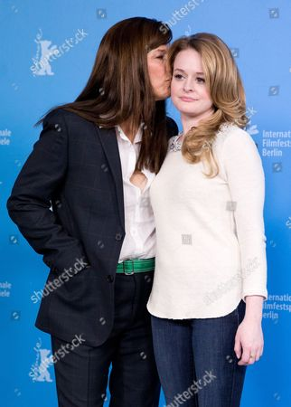 Us Actresses Fallon Goodson (r) and Catherine Keener Pose at a Photocall For 'Maladies' During the 63rd Annual Berlin International Film Festival Aka Berlinale in Berlin Germany 10 February 2013 the Movie is Presented in the Section Panorama Special at the Berlinale Germany Berlin