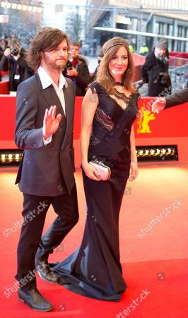 Polish Actors Mateusz Kosciukiewicz (l) and Maja Ostaszewska Arrive For the Premiere of Their Movie 'In the Name Of' (w Imie ) During the 63rd Annual Berlin International Film Festival in Berlin Germany 08 February 2013 the Movie is Presented in the Competition at the Berlinale Germany Berlin