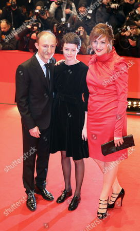 French Director Guillaume Nicloux (l-r) Arrives with Belgian Actress Pauline Etienne and German Actress Martina Gedeck Arrive For the Premiere of the Movie 'The Nun' ('la Religieuse') During the 63rd Annual Berlin International Film Festival in Berlin Germany 10 February 2013 the Movie is Presented in Competition at the Berlinale Germany Berlin