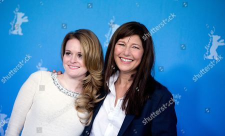 Us Actresses Fallon Goodson (l) and Catherine Keener Pose at a Photocall For 'Maladies' During the 63rd Annual Berlin International Film Festival Aka Berlinale in Berlin Germany 10 February 2013 the Movie is Presented in the Section Panorama Special at the Berlinale Germany Berlin