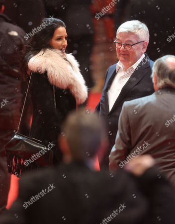 Former German Foreign Minister Joschka Fischer and His Wife Minu Barati-fischer Arrive For the Premiere of 'The Grandmaster' (yi Dai Zong Shi') During the 63rd Annual Berlin International Film Festival in Berlin Germany 07 February 2013 the Movie Has Been Selected As the Opening Film For the Berlinale and is Presented in the Offical Section out of Competion the Film Festival Runs From 07 to 17 February Germany Berlin