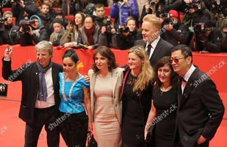 Berlinale Jury Members (l-r) German Director Andreas Dresen Iranian Filmmaker Shirin Neshat Danish Director Susanne Bier Us Cinematographer Ellen Kuras Us Actor Tim Robbins Greek Filmmaker Athina Rachel Tsangari and Chinese Director and Jury President Wong Kar Wai Arrive For the Premiere of 'Side Effects' During the 63rd Annual Berlin International Film Festival in Berlin Germany 12 February 2013 the Movie is Presented in Competition at the Berlinale Running From 07 to 17 February Germany Berlin