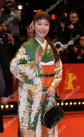 Japanese Actress Haru Kuroki Arrives For the Closing and Awards Ceremony of the 64th Annual Berlin Filmáfestival in Berlin ágermany 15 February 2014 the Berlinale Festival Runs Until 16 February Germany Berlin