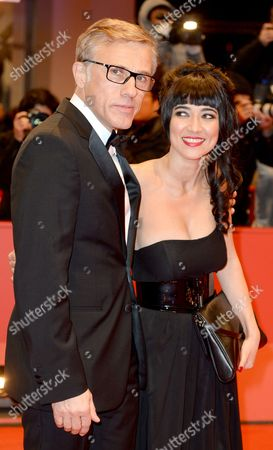 Jury Members Austrian Actor Christoph Waltz (l) and Iranian Director Mitra Farahani (r) Arrive For the Closing and Awards Ceremony of the 64th Annual Berlin Filmáfestival in Berlin ágermany 15 February 2014 the Berlinale Festival Runs Until 16 February Germany Berlin