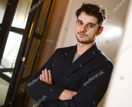 Stock Image of Serbian Actor Nikola Rakocevic Poses at the Hotel De Rome in Berlin Germany 09 February 2014 the European Shooting Stars 2014 Are Presented at the 64th Annual Berlin Film Festival Which Runs From 06 to 16 February Germany Berlin