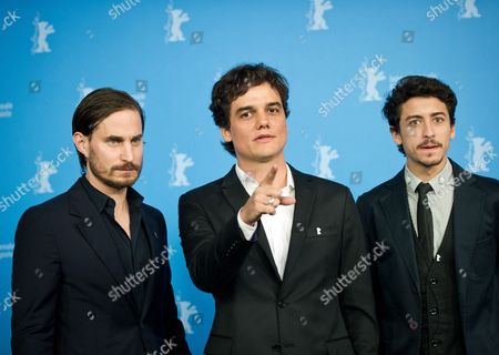 (l-r) German Actor Clemens Schick and Brazilian Actors Wagner Moura and Jesuita Barbosa Pose During the Photocall For 'Praia Do Futuro' at the 64th Annual Berlin Film Festival in Berlin Germany 11 February 2014 the Movie is Presented in the Official Competition of the Berlinale Which Runs From 06 to 16 February 2014 Germany Berlin
