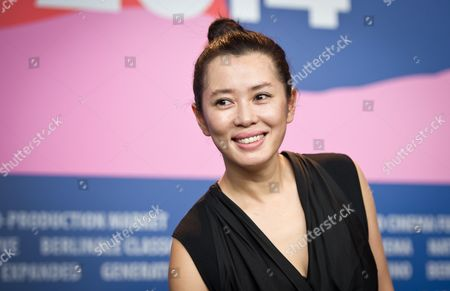 Chinese Actor Yu Nan Poses During the Press Conference For the Movie 'Wu Renáqu' (no Man's Land) at the 64th Berlinale in Berlin ágermany 13 February 2014 the Movie is Presented in the Official Competition of the Berlinale Which Runs From 06 to 16 February 2014 Germany Berlin