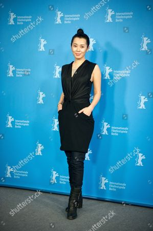Chinese Actor Yu Nan Poses During the Photocall For the Movie 'Wu Renáqu' (no Man's Land) at the 64th Berlinale in Berlin ágermany 13 February 2014 the Movie is Presented in the Official Competition of the Berlinale Which Runs From 06 to 16 February 2014 Germany Berlin