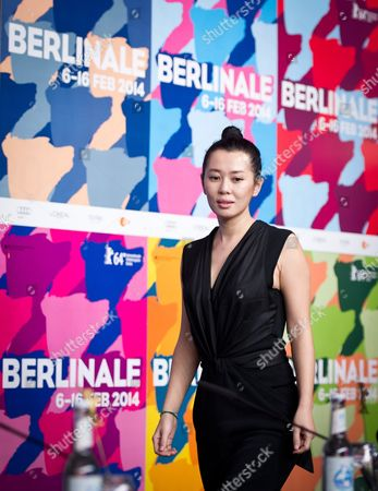 Stock Picture of Chinese Actor Yu Nan Poses During the Press Conference For the Movie 'Wu Renáqu' (no Man's Land) at the 64th Berlinale in Berlin ágermany 13 February 2014 the Movie is Presented in the Official Competition of the Berlinale Which Runs From 06 to 16 February 2014 Germany Berlin
