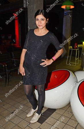 German Actress Pegah Ferydoni Poses During the Premiere For the Film 'Feuchtgebiete' in Berlin Germany 13 August 2013 Germany Berlin