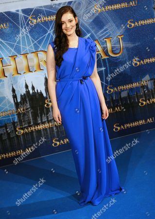German Actress/cast Member Maria Ehrich Arrives For the Premiere of 'Sapphire Blue' in Cologne Germany 11 August 2014 the Movie Will Be Premiere in German Theatres on 14 August Germany Cologne