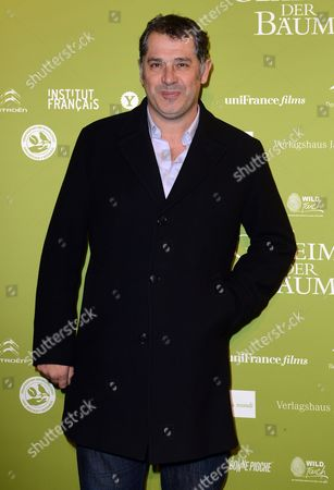 French Director Luc Jacquet Arrives For the Germany Premier of the Film 'Das Geheimnis Der Baeume' (lit: the Secret of the Trees) Which is Shown During the 13th French Film Week at Cinema Paris in Berlin Germany 10 December 2013 Germany Berlin